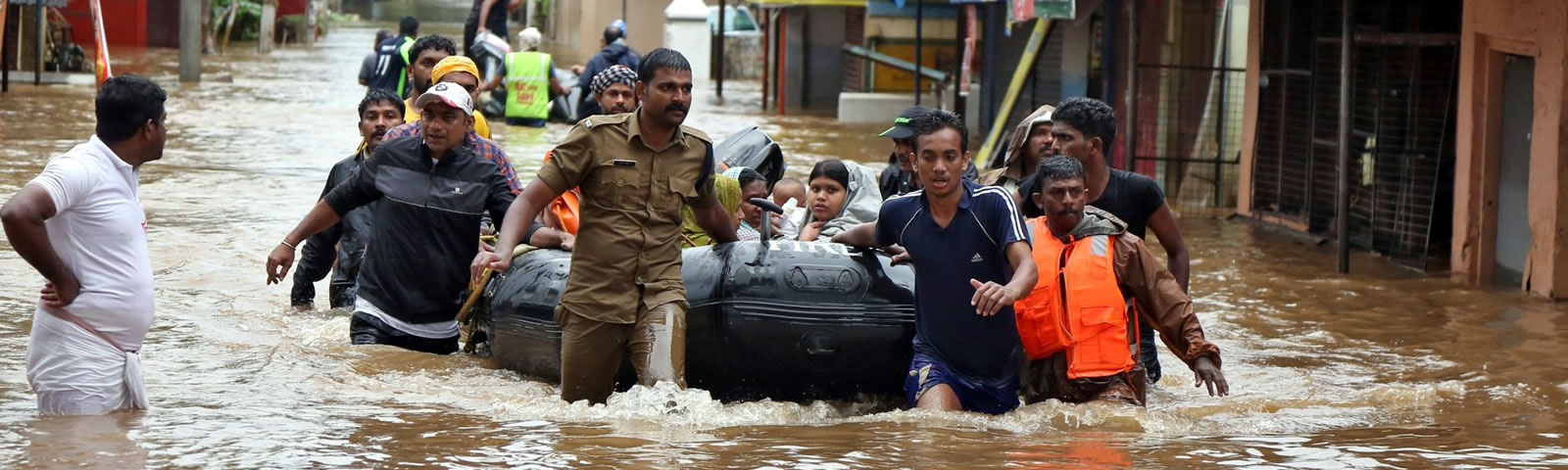 Flood Affected People in Ekal Villages in Kerala